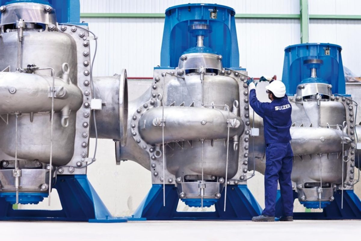Sulzer s'implique dans les économies d'énergie dans le traitement des eaux usées