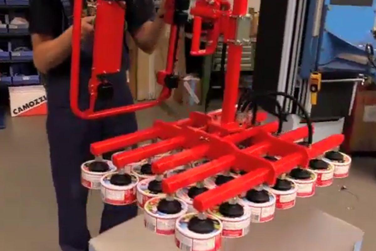 Le manipulateur industriel Posifil, adapté pour les espaces réduits