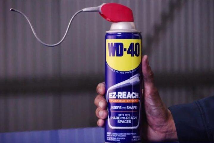 Le fameux lubrifiant dégrippant WD-40 présente un nouveau format qui s'emmène partout