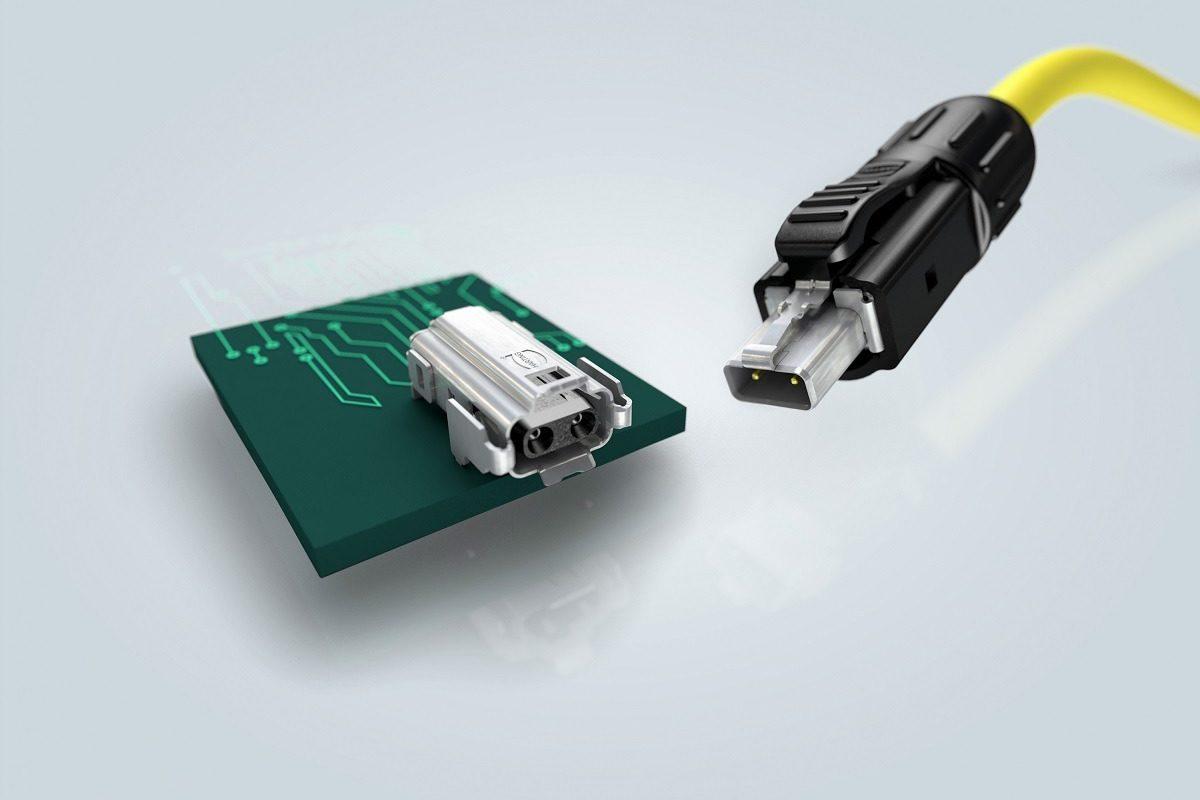 Ethernet industriel : puissance et données sur le même câble ; le nouveau standard de connecteur