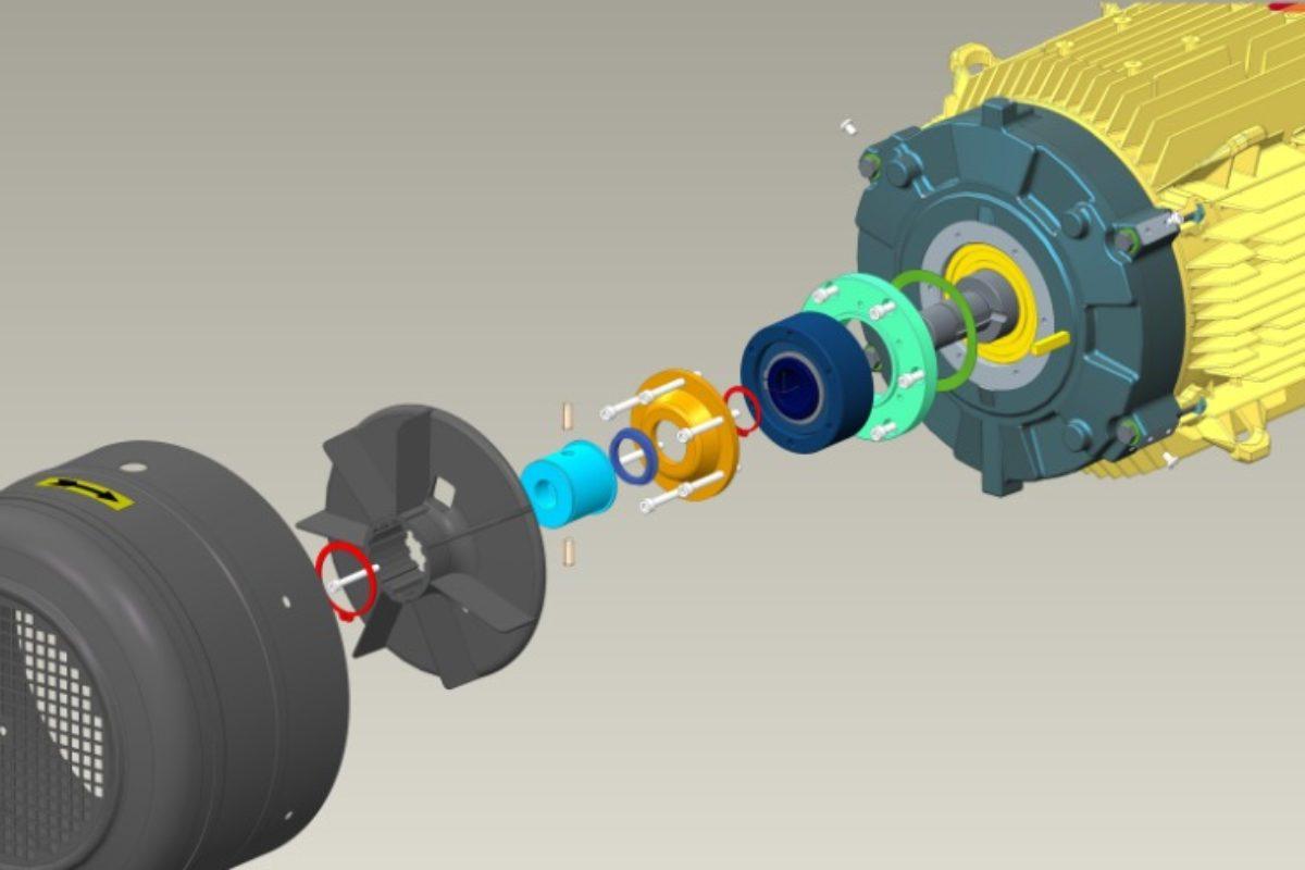 Nouveau système d'anti-dévirage sur les motoréducteurs Nidec Leroy-Somer