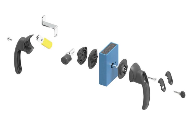 Des poignées innovantes pour rendre vos armoires électriques inviolables