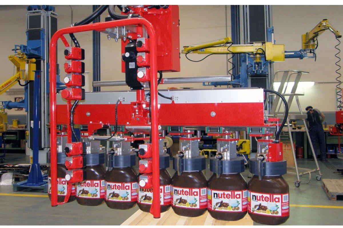 Une nouvelle solution de préhension conçue sur mesure pour la manutention de bocaux agroalimentaires