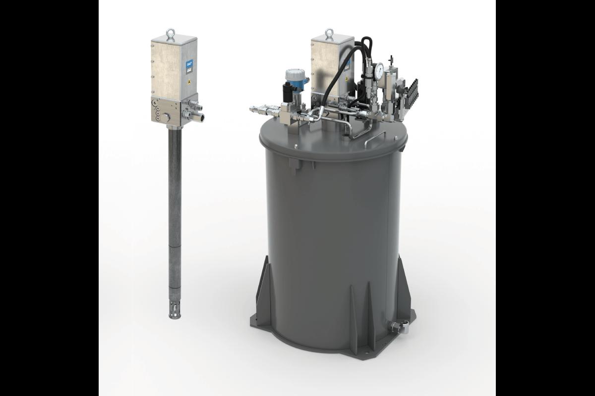 Une pompe à graisse sur fût efficace pour gérer la lubrification automatique des machines