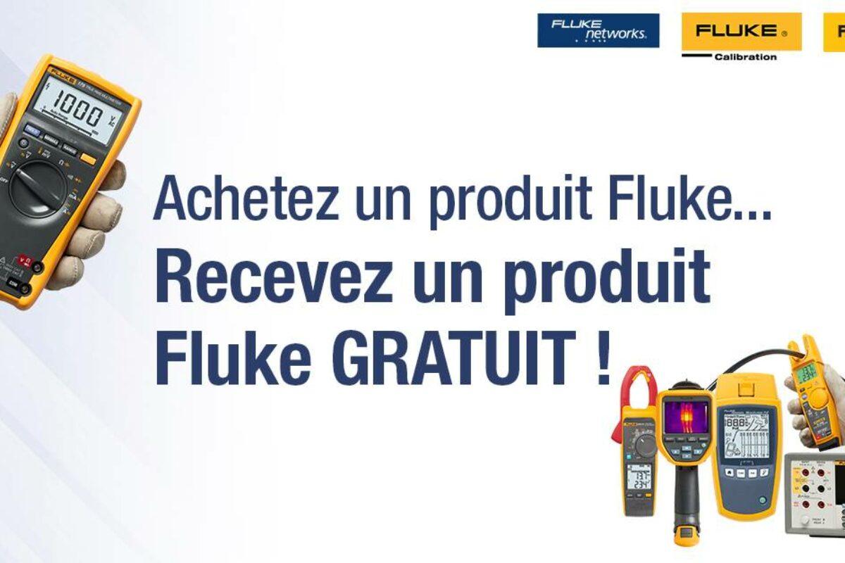 Éléments Industriels vous présente une promotion exceptionnelle sur les appareils Fluke
